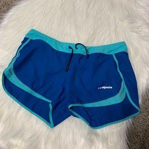 Patagonia blue hiking shorts size small